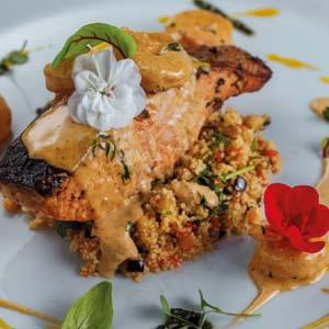 печеное филе лосося