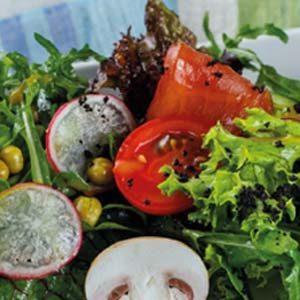 салат с тунцом фермерский