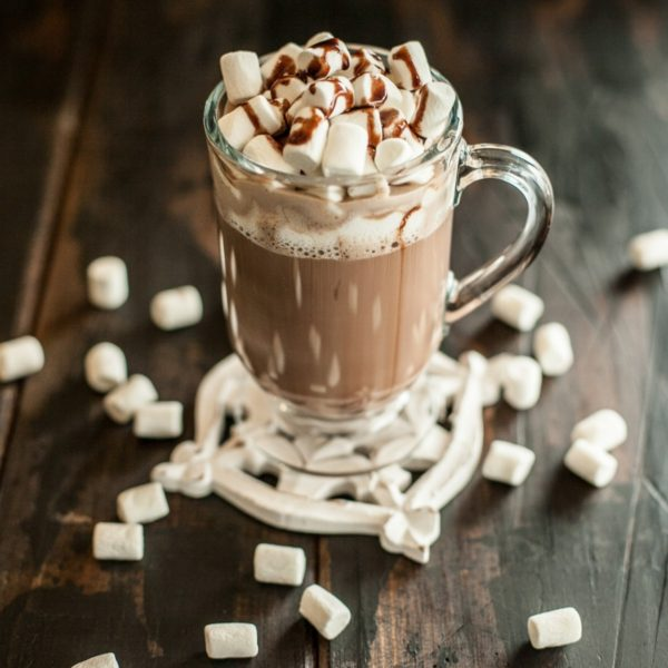 Какао с маршмеллоу киви киви